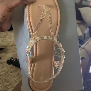Size 12 Embellished Sandals